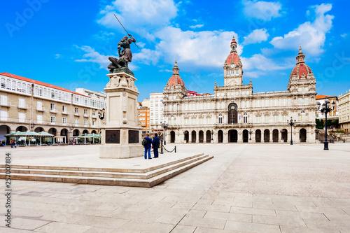 City Hall, Plaza de Maria Pita, A Coruna