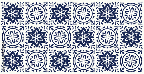 tile design pattern bathroom and place wall covering-vector - 257010230