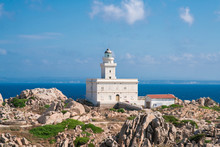 Lighthouse Of Capo Testa. Sant...