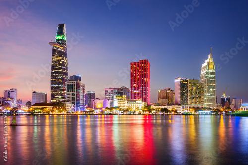 Foto  Ho Chi Minh city skyline