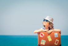 Child Enjoys A Summer Vacation...