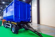 Cargo Trailer. Metal Container...