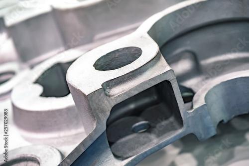 Aluminum casting Fotobehang