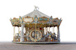 canvas print picture - historic carousel