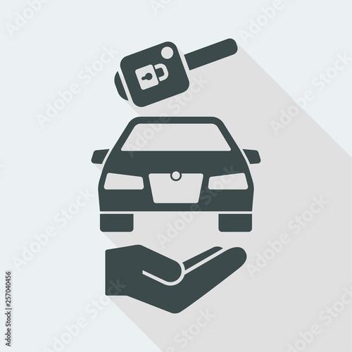 Fotografía  Automotive delivery service concept