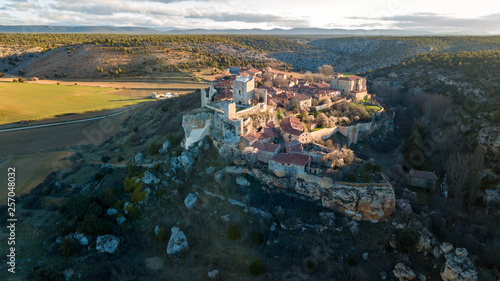 medieval village of calatañazor at soria province, Spain
