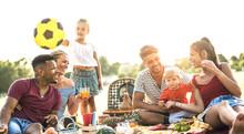 Happy Multiracial Families Hav...