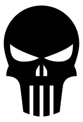Punisher Skull Vector Icon