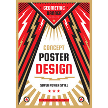Vertical Art Poster Template I...