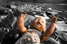 Abandoned Doll As A Symbol