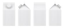 Blank Milk Carton