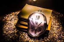 Distorted Soft Melting Clock O...