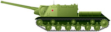 ISU-122 Self-propelled Artille...