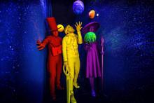 Group Of Stylized Fantasy Acto...