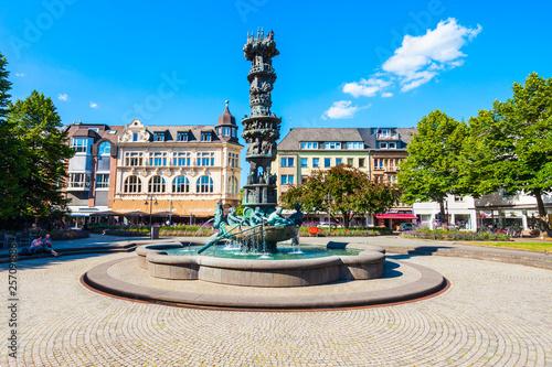 Foto  History column Historiensaule in Koblenz