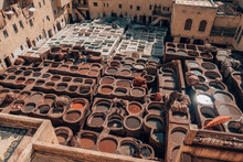 Traditional Tannery In The Med...