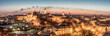 Panorama of old town in City of Lublin, Poland