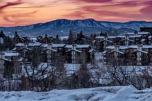 Snow Covered Condominiums At S...