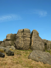 Craggy Outcrops On The Bridest...