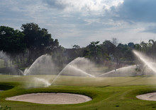 Irrigation Of Golf Course