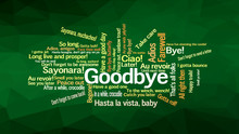 How To Say GOODBYE In Different
