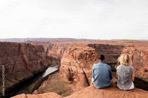 Valokuva  Couple in Grand Canyon