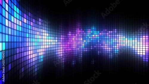 Fotografiet  Dance Light Wall Background