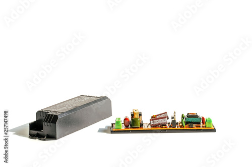 Photo Electrical ballast is a device with limit the amount of current in an electrical circuit