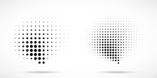 Halftone Dots Curved Gradient ...