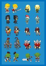 Warrior Character Illustration