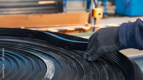 Valokuva  rubber extrusion