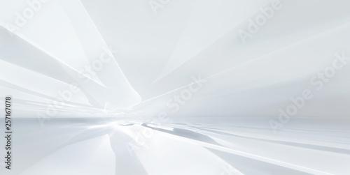 Obraz white futuristic background - fototapety do salonu