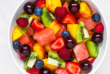 Fruit Salad With Watermelon, S...
