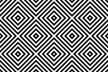 Black And White Geometrical Pa...