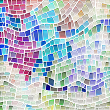 Abstract Vector Stained-glass ...