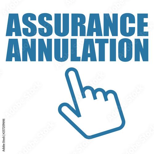 Photo Logo assurance annulation.