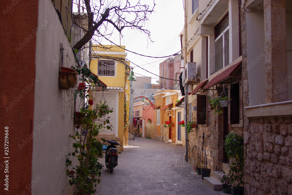 Old Town in Tyre Lebanon