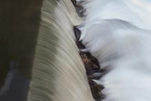 Motion Blurred Waterfall Splas...