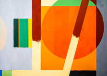One Of A Series Of Geometric A...