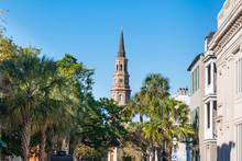 St Phillip's Church In Charleston, South Carolina