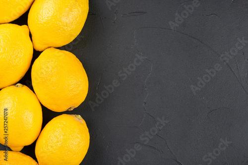Fresh fruit lemon - 257247078
