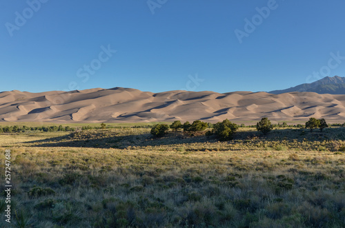 Αφίσα  Great Sand Dunes National Park and Preserve in the morning (Saguache county, Col