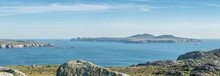 Panoramic View From St Davids Head In Pembrokeshire, Wales