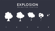 Explosion Storyboard Sprite Se...