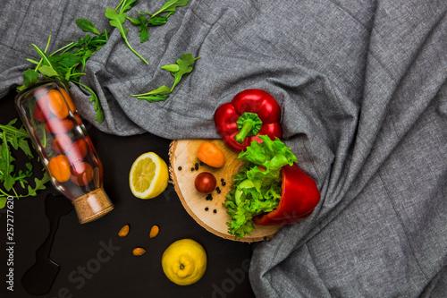żywność warzywa owoce stół