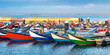 canvas print picture - Portugal, Hafen