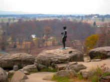 Statue Of General Warren Along...