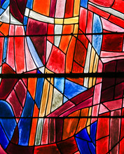 Stained Glass In Paris, St Sev...