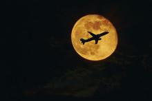 Plane, Aircraft Silhouette Aga...