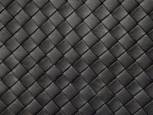 Braided Texture Of Old Black L...